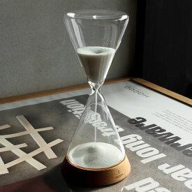 ■【5分用】「Hacoa Sand Timer 5minutes」5分 砂時計 かわいい おしゃれ シンプル ナチュラル 北欧 木製 ギフト プレゼント 日本製 インテリア