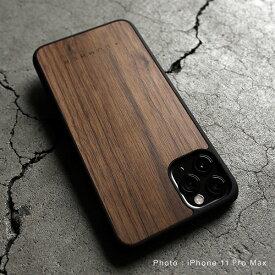 ■「+LUMBER iPhone 11ProMax ALL-AROUND CASE」iPhone 11ProMax アイフォンケース カバー ハード ウッド 木製 天然木 Qi対応 かっこいい かわいい おしゃれ デザイン ギフト プレゼント Hacoa 名入れ可 高品質 6.5インチ