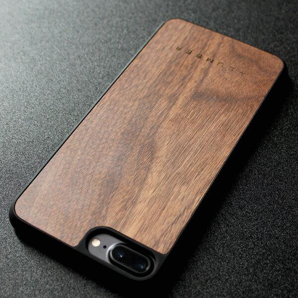 ■【+L 8/7Plus】木目が美しいiPhone8/7用木製ケース「iPhone8/7 Plus ALL-AROUND CASE」【Qi対応】