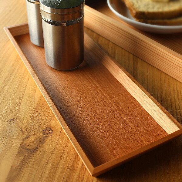 ■調味料をまとめて収納できる木製トレー「3Colors Caster tray」