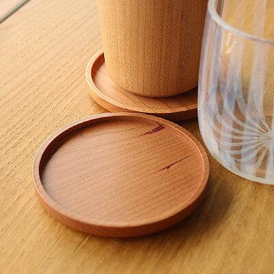 ■木製コースター「Coaster-Round」