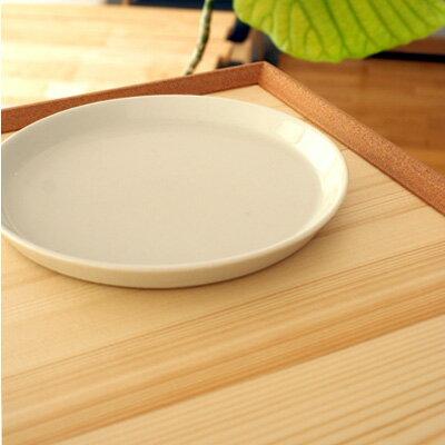 ■木製お盆・トレー「ちぎり白木盆(尺一角サイズ)」