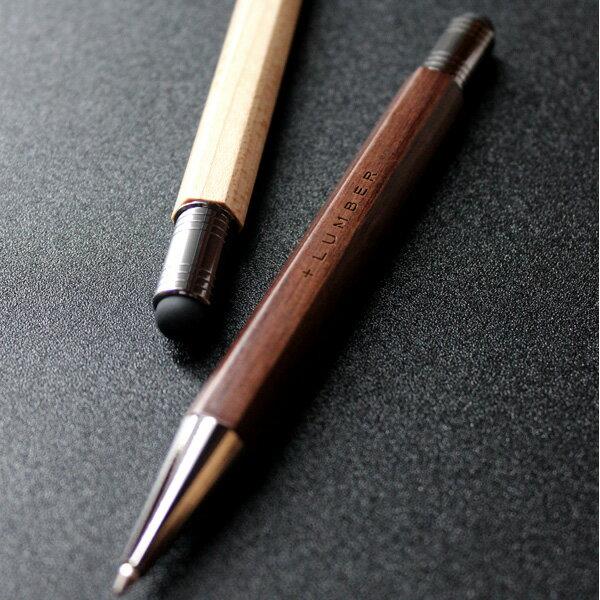 ■【名入れ】銘木をプラスした木製タッチペン&ボールペン「CLASSIC BALLPOINT WITH TOUCH PEN」