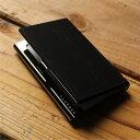 ■【+L】木製名刺入れ・カードケース「CARD CASE(黒檀)」プレミアムモデル