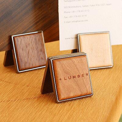 ■【+L】木製カードスタンド「CARD STAND」