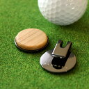 ■【+L】木製グリーンマーカー「Golf Marker」