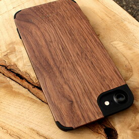 ■【+L SE2/8/7/6】木製アイフォンケース「iPhone CASE SE(第2世代)/8/7/6」【Qi対応】