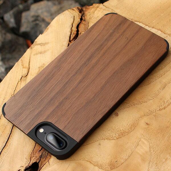 ■【+L 8/7Plus】木製iPhoneケース「iPHONE CASE 8/7 PLUS」【Qi対応】