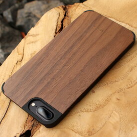 ■【+L 8Plus/7Plus】木製iPhoneケース「iPhone CASE 8Plus/7PLUS」【Qi対応】