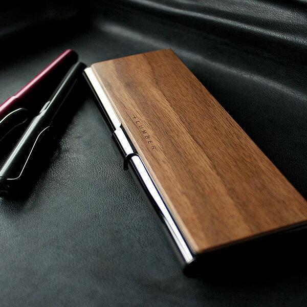 ■【+L】木製筆箱・ペンケース「PEN CASE」