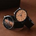 ■【ペア】「+LUMBER WATCH 1100 ギフトセット」腕時計 ウォッチ 木製 ウッド メンズ レディース ユニセックス 日本製…
