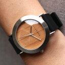 ■3300「+LUMBER WATCH 3300(シリコンベルト)」腕時計 ウォッチ 木製 ウッド メンズ レディース ユニセックス 日本…