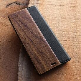 ■【5】手帳型木製ケース「Xperia 5 FLIPCASE」SO-01M SOV41 901SO Xperia 5 エクスペリアケース カバー 手帳型 ブック型 ウッド 木製 天然木 かわいい おしゃれ デザイン ギフト プレゼント Hacoa 名入れ可 高品質