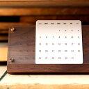 ■木製万年カレンダー「Desk Calendar Eternal」