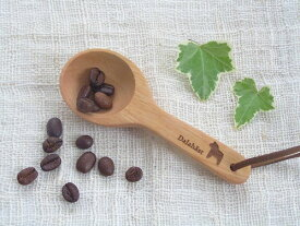 ダーラナホースのコーヒーメジャー/木製 ホースの刻印入り 長さ10.7cm