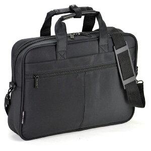 送料無料 ブリーフケース ビジネスバッグ B4ファイル A4 メンズ マイクロファイバー 40cm 26527【ポイント10倍】
