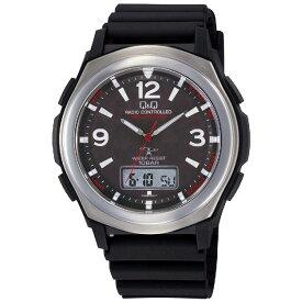 送料無料 CITIZEN(シチズン) Q&Q 電波ソーラー腕時計 ソーラーメイト アナデジ表示 10気圧防水 MD16-305 メンズ 【あす楽対応】