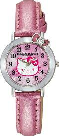 【メール便 送料無料】シチズン Q&Q 腕時計 Hello Kitty (ハローキティ) アナログ VW23-130 レディース