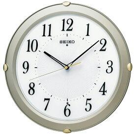 送料無料 訳あり特価! セイコークロック 電波掛時計 薄金色パール塗装 KX211S【あす楽対応】