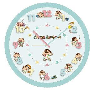 クレヨンしんちゃん アイコンウォールクロック 掛け時計 パジャマ 2926-155【あす楽対応】乾電池付