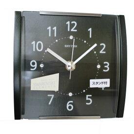 送料無料★リズム時計製 掛置き兼用時計「スタンダードスタイル109」 8MGA35RH05【あす楽対応】