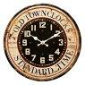 【壁掛時計】デザインウォールクロックサンYGZ-735クリア【あす楽対応】