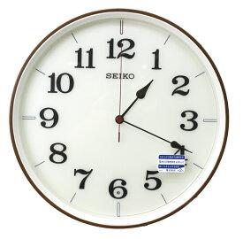 送料無料 訳あり特価! セイコークロック 電波掛け時計 ナチュラルスタイル KX221B【あす楽対応】