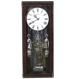 リズム時計 電波掛け時計 振り子時計 ソフィアーレプリモ メロディ全30曲 スワロフスキー クリスタル ブラウン 4MN535SR23 送料無料 RHYTHM シチズン