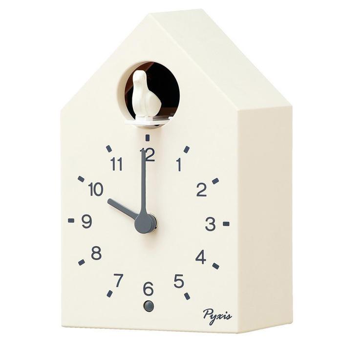 セイコー クロック 掛け置き兼用時計 かっこう時計 カッコー時計 白塗装 NA610W 【あす楽対応】【動画あり】