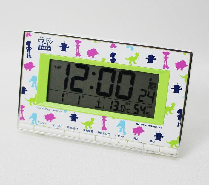 リズム時計 トイ・ストーリー 電波デジタル時計 8RZ133MC05【あす楽対応】