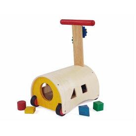 木のおもちゃ 出産祝い 手押し車 乗用玩具 エドインター のっておして!すくすくウォーカー 赤ちゃん 1歳 誕生日 プレゼント