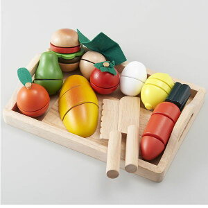 エドインター ままごといっぱいセット 野菜 食材 木のおもちゃ 2歳 3歳 4歳 誕生日 プレゼント 男の子 女の子 出産祝い