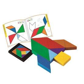 エドインター 脳力タングラム パズル 知育玩具 3歳 4歳 5歳 木のおもちゃ 誕生日プレゼント