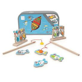 フィッシュゲーム サーディーン 魚釣り 磁石 マグネット 木のおもちゃ Scratch スクラッチ