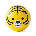 トラ柄のミニサッカーボール SFIDA スフィーダ アニマルフットボール 外遊び おもちゃ
