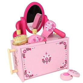 タイガートライブ ままごとドレッサーセット おしゃれ遊び お化粧 おもちゃ 3歳 4歳 5歳 女の子 誕生日 プレゼント
