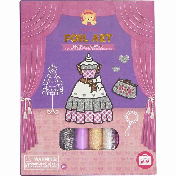 タイガートライブ ホイルアート プリンセス おもちゃ 知育玩具 工作 女の子 5歳 6歳 7歳 プレゼント 誕生日プレゼント