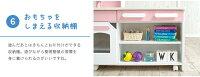ワイドタイプままごとキッチンcore+(コアプラス)グレー/ピンク/ウッドナチュラル