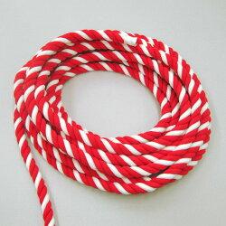 紅白ロープ(紅白ひも)太さ2cm切り売り