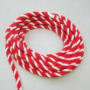 紅白ロープ(紅白ひも) 太さ2cm 切り売り