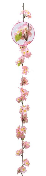造花 桜コード 180cm