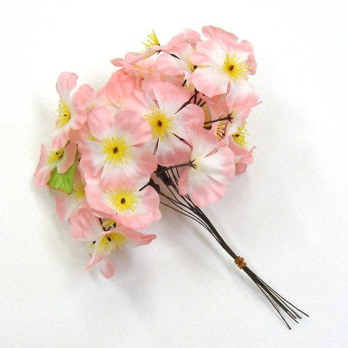 造花 桜枝付け用ピック 10本1束