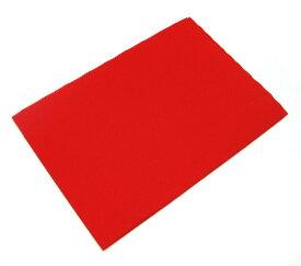 毛せん 赤色 90cmX60cm 【あす楽対応】