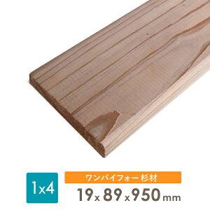 杉ツーバイ材19x89x950厚みx幅x長さ(ミリ)