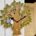 掛け時計 トゥルル Turul インターフォルム CL-9891【壁掛け時計 小鳥 振り子時計 鳩時計 ハト時計 おしゃれ 時計 壁…