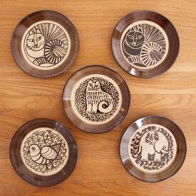 リサラーソン LisaLarson 益子の皿【リサ・ラーソン 小皿 皿 食器 和食器 陶器 猫 マイキー キッチン リサラーソン スウェーデン 北欧 益子焼 ギフト かわいい 可愛い おしゃれ 結婚祝い 誕生日 女性 プレゼント プチギフト 敬老の日】