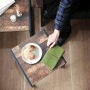 ヴィンテージ風ネストテーブル【四角形 サイドテーブル 角 セット テーブル 大小 2台組 ネリビングテーブル ナイトテ…