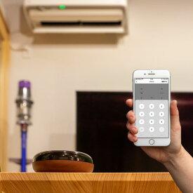 【コンパクト設計】スマートリモコン TOLIGO 遠隔操作 学習リモコン Wi-Fi 木目調 エアコンやテレビをスマホで操作 リモコン付き照明 AmazonAlexa GoogleHome 対応 スマート家電 IoT家電 ペット タイマー機能 おしゃれ 赤外線 ナチュラル 家電リモコン アプリ 連携