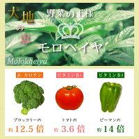 野菜の王様「モロヘイヤ」