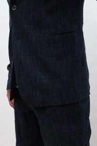 【junhashimoto】【ジュンハシモト】【2018SS】1031810021BONOTTOLIGHTJACKET[NAVY×BLUE]【正規通販】【送料無料】【父の日】【プレゼント】【メンズ】【30代】【40代】